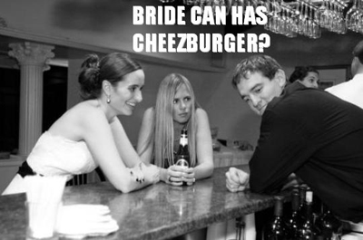 Bride Can Haz Cheezburger?