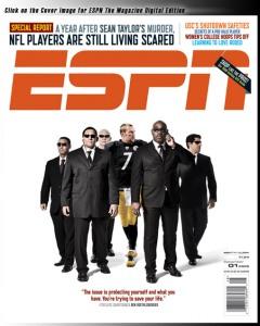 Ben Roethlisberger ESPN Cover