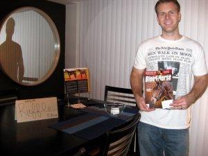 Scott Wins the Magazine
