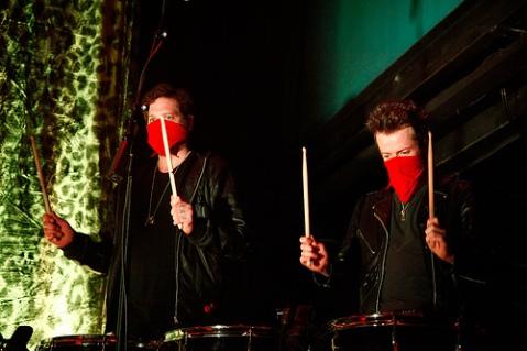 The Kills 9:30 Club Drummers