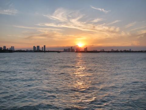 Miami Bayside Sunset