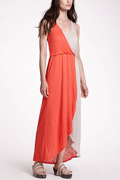 Anthropologie Half Day Maxi