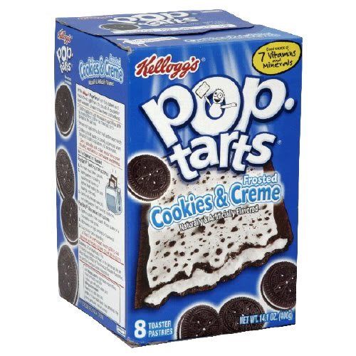 Cookies and Cream, Pop Tarts