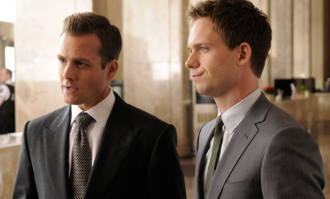 Suits Gabriel Macht Patrick J. Adams